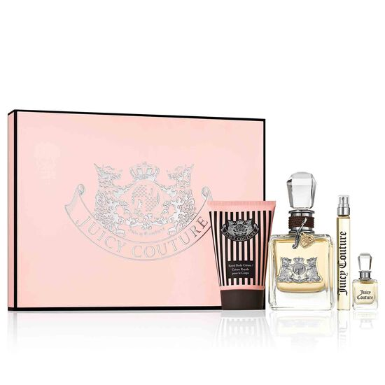 Juicy Couture 3.4 oz Eau de Parfum 4 Piece Gift Set