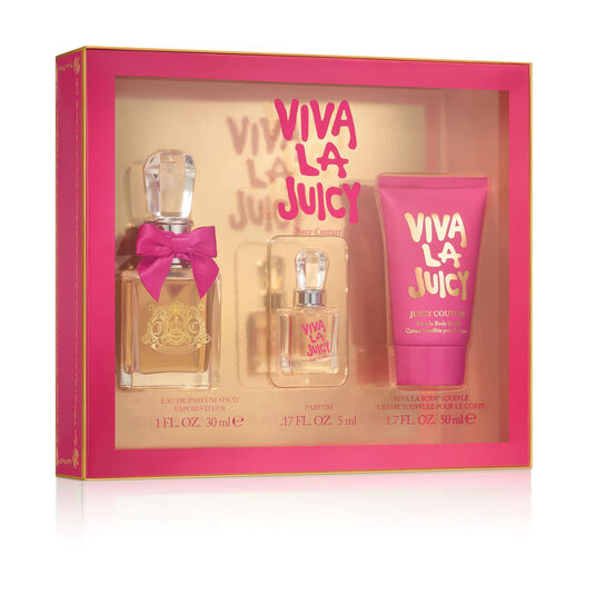 Viva La Juicy Eau De Parfum 1 oz. Gift Set