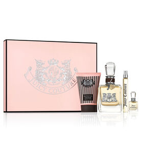 Juicy Couture Eau De Parfum 3.4 oz. 4-Piece Gift Set