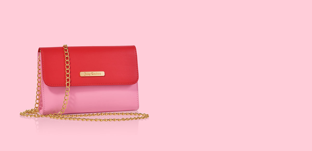 Free Juicy Couture Chain Crossbody Bag with any $50 purchase